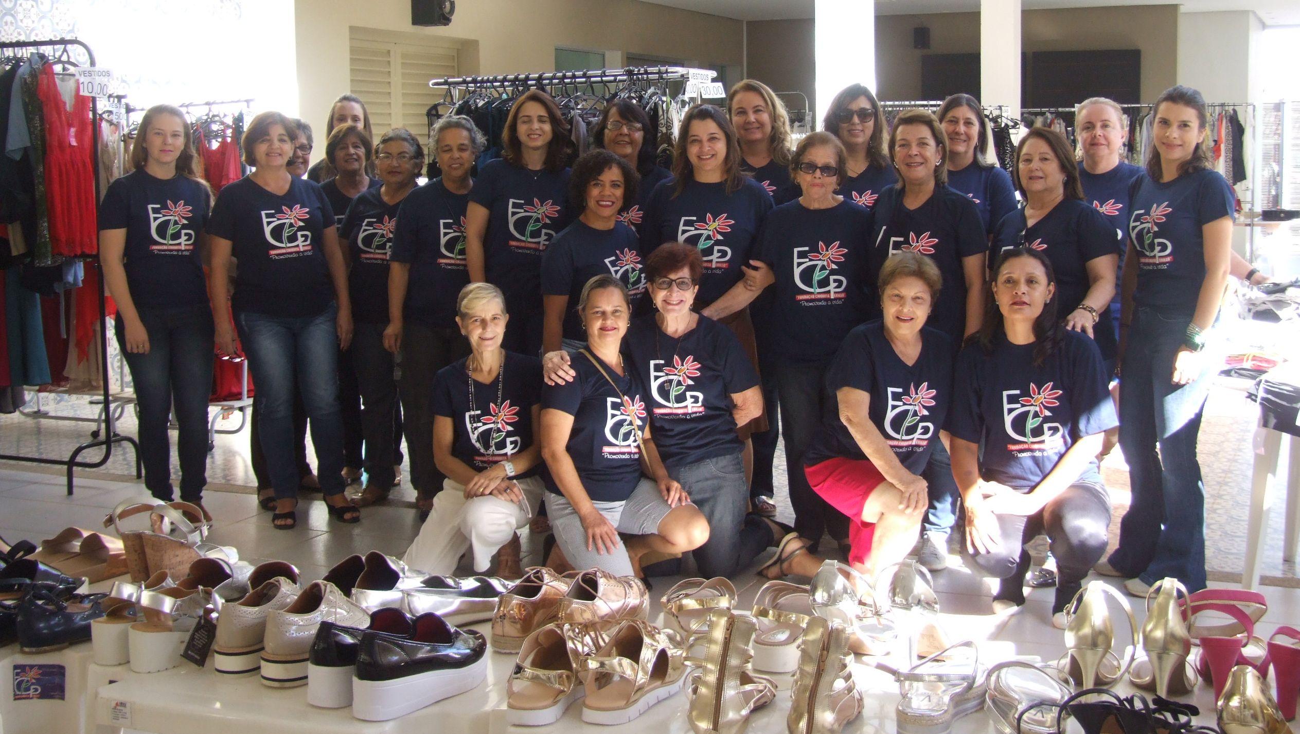 Voluntárias da Fundação Chiquita Perillo