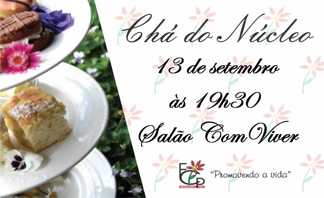 """Vem aí Chá Beneficente da FCP, o irresistível """"Chá do Núcleo"""" 2018"""